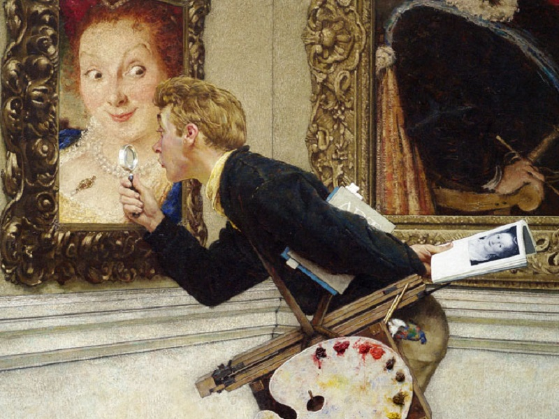 Tsps_guest_peter-loughrey_how-to-buy-art_norman-rockwell_small