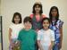 Caption: Brunswick Acres Elementary School (Kendall Park, NJ) students Alec, Janani, Megha, Nikita, Pritha., Credit: J Benoff