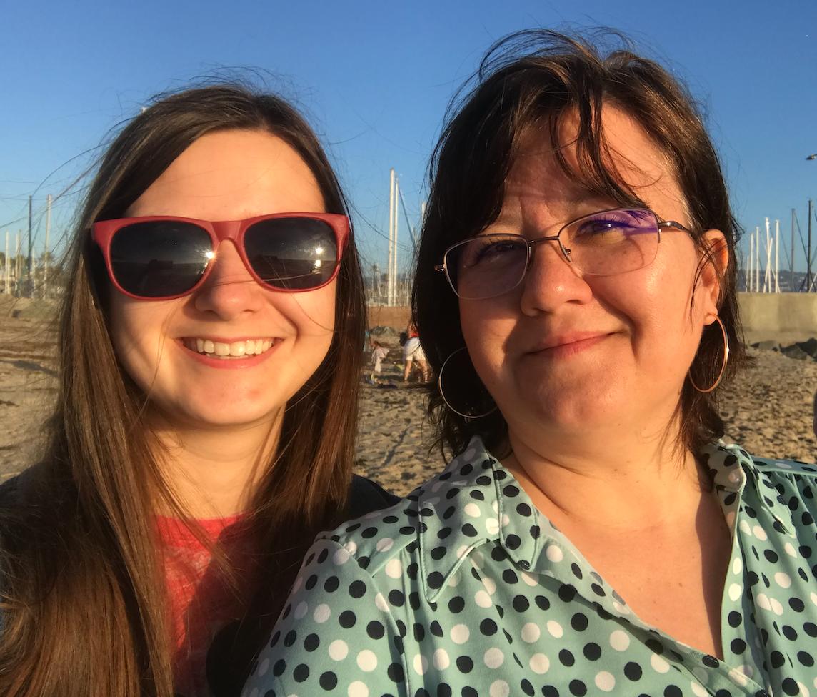 Caption: Emily and her mom, Sherri Simonson