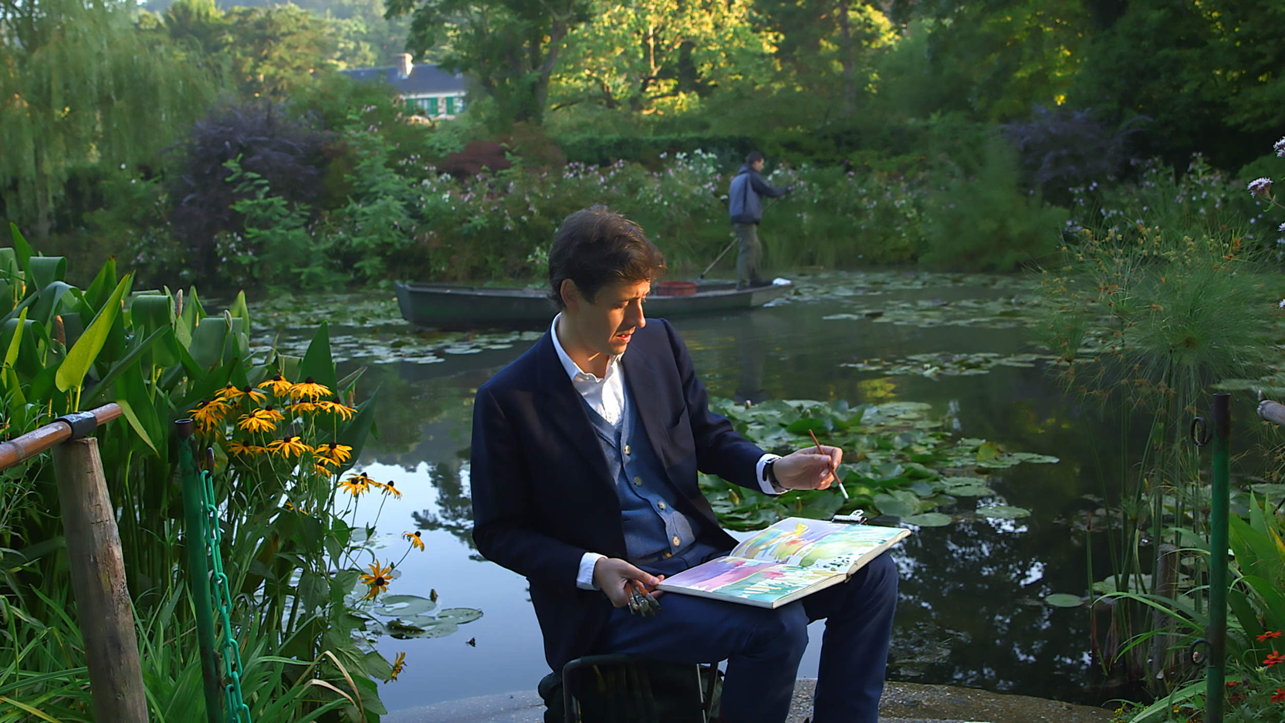 Caption: Painting The Modern Garden, Credit: David Bickerstaff