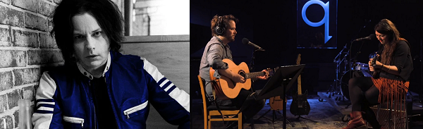 Caption: Jack White, Tom Power and Terra Lightfoot, Credit: David James Swanson-CBC