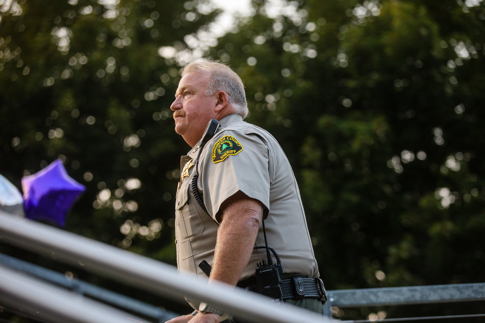 Caption: Sheriff Ty Trenary, Credit: Leah Nash for Finding Fixes