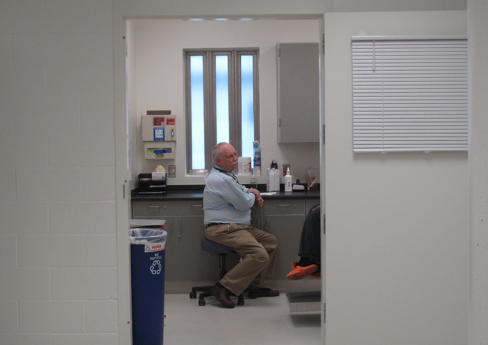 Caption: Medical Staff in the Snohomish County Jail., Credit: Anna Boiko-Weyrauch