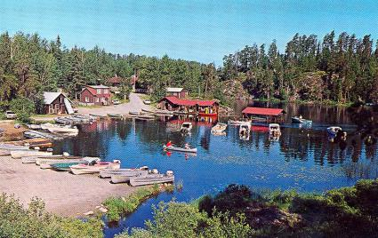 Caption: Chik-Wauk Bay, Credit: Gunflint Trail Historical Society