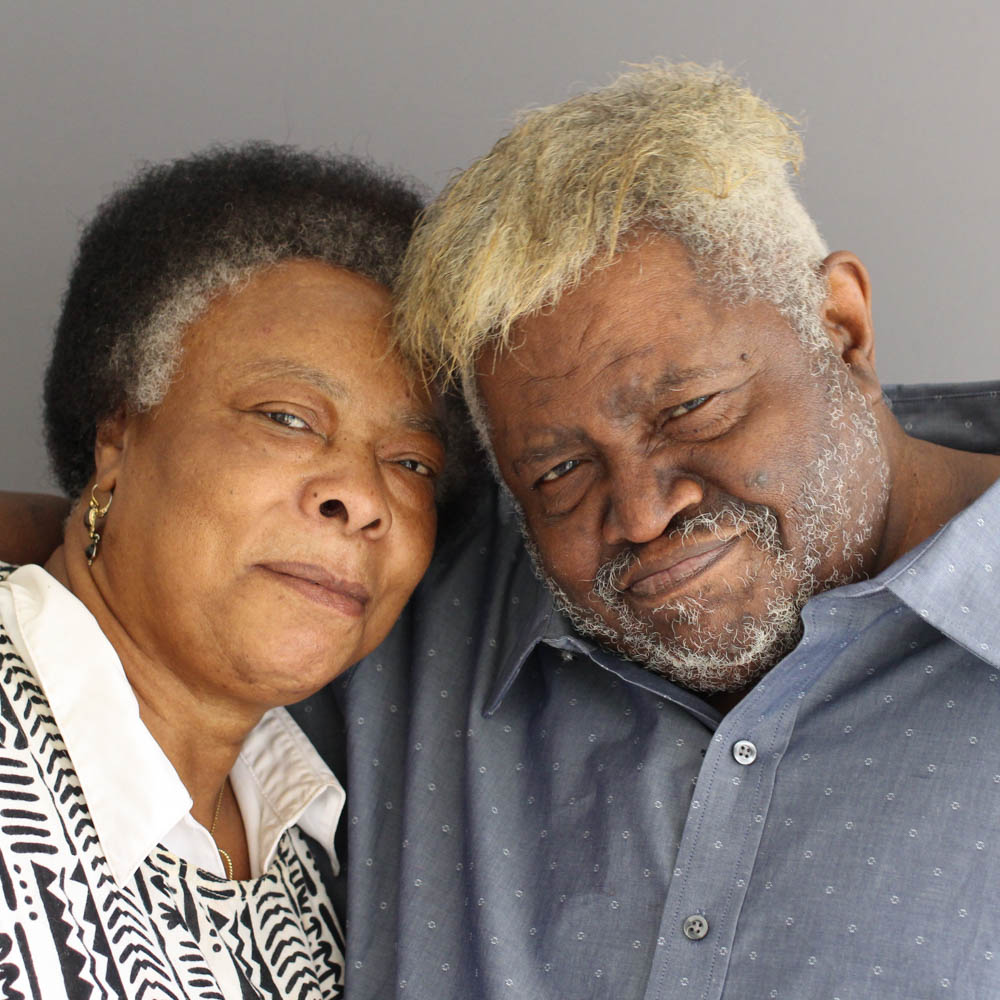 Caption: Patsy and Winfred Rembert at their StoryCorps interview in Hamden, CT in April of 2017. , Credit: By Jacqueline Van Meter for StoryCorps.