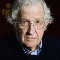 Caption: Noam Chomsky