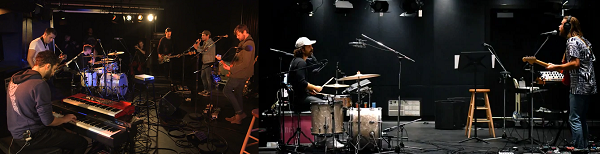 Caption: Sam Roberts band and The Darcys performing in the q studio in Toronto, Credit: CBC