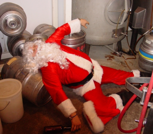 Caption: Santa Christmas Morning, Credit: Thom Butler