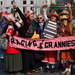 Caption: Raging Grannies Show Their Stuff, Credit: Ruth Robertson