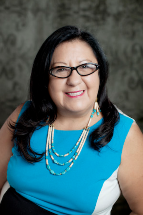 Caption: Melanie Benjamin is Chief Executive of the Mille Lacs Band of Ojibwe., Credit: millelacsband.com