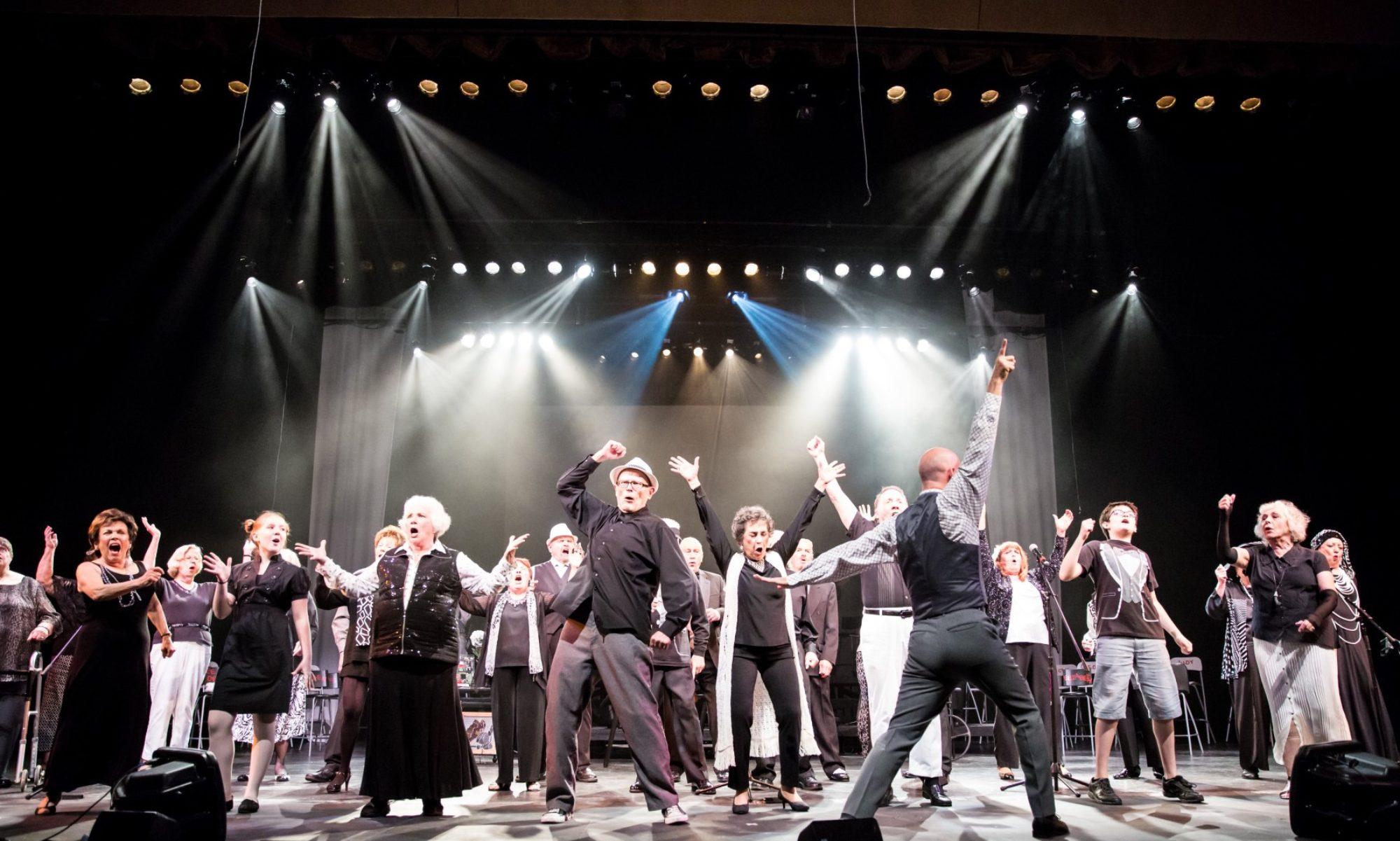 Caption: Senior Singing Ensemble Alive & Kickin, Credit: photo: courtesy of Alive & Kickin