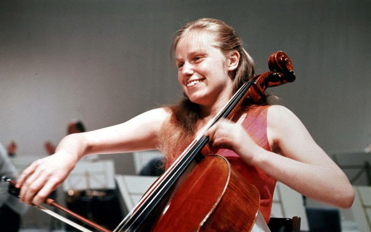 Caption: Jacqueline Du Pre, Credit: Telegraph UK