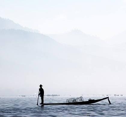 Caption: A Moken fisherman of the Myeik Archipelago, Myanmar, Credit: Wikimedia Commons