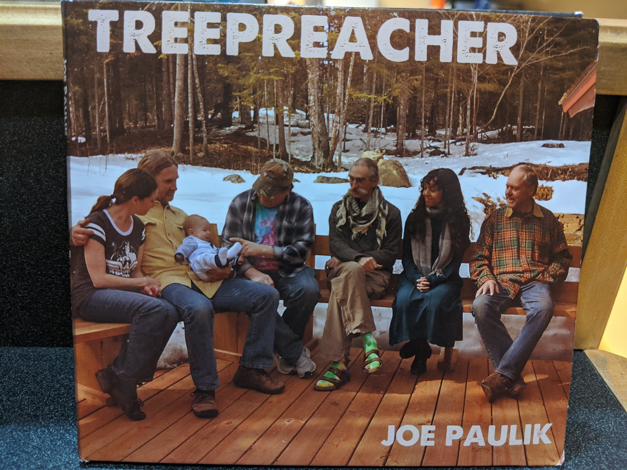 Caption: Cover of Treepreacher