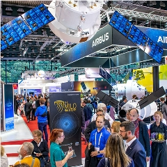 Caption: The MILO Institute was introduced at the 2018 International Astronautical Congress in Bremen., Credit: ASU/Antonio Stark