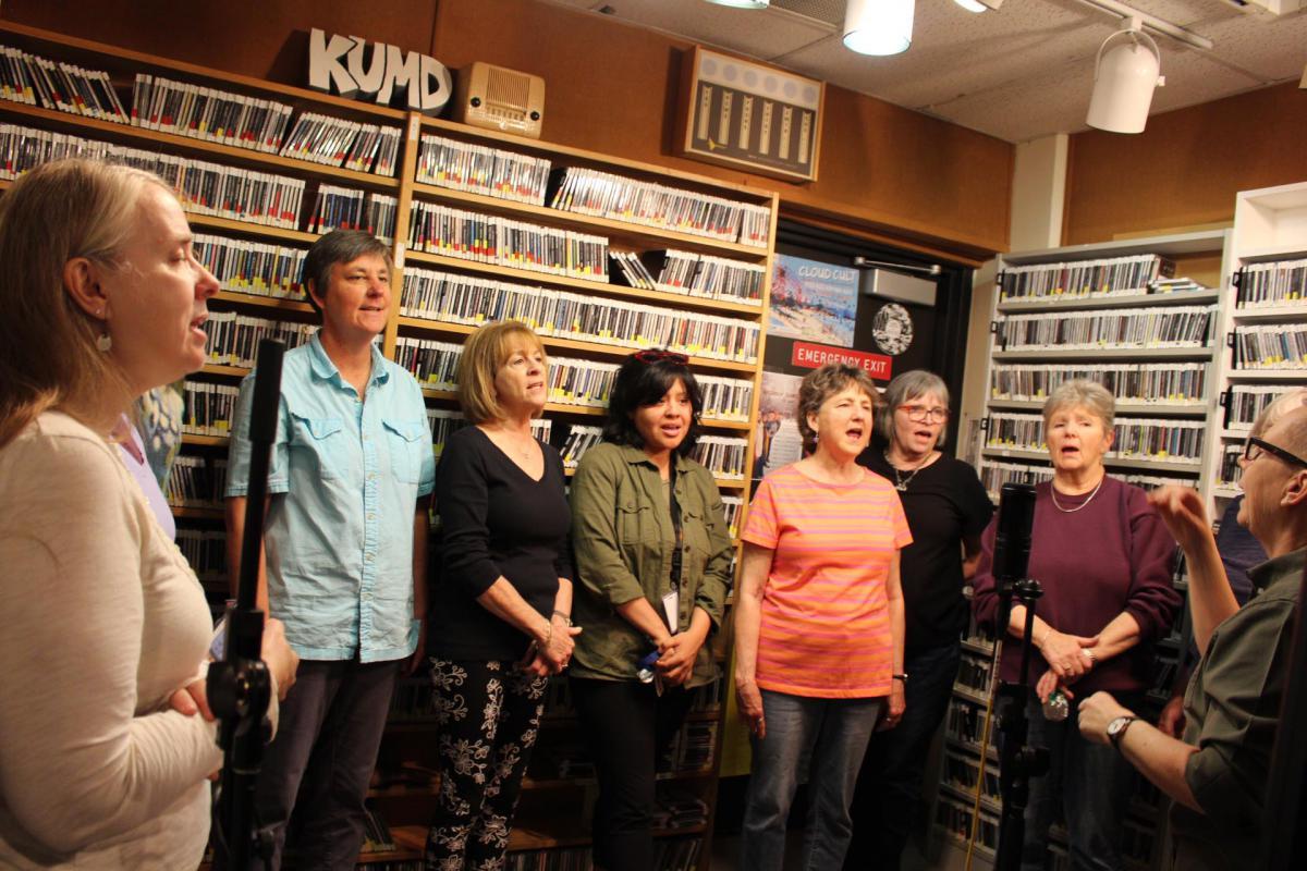 Caption: Sing! Women's Chorus, Credit: KUMD