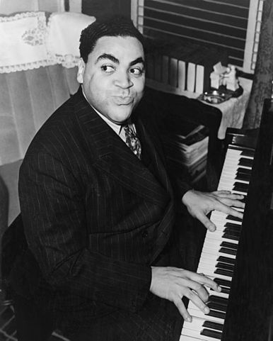 Caption: Fats Waller, Credit: Library of Congress