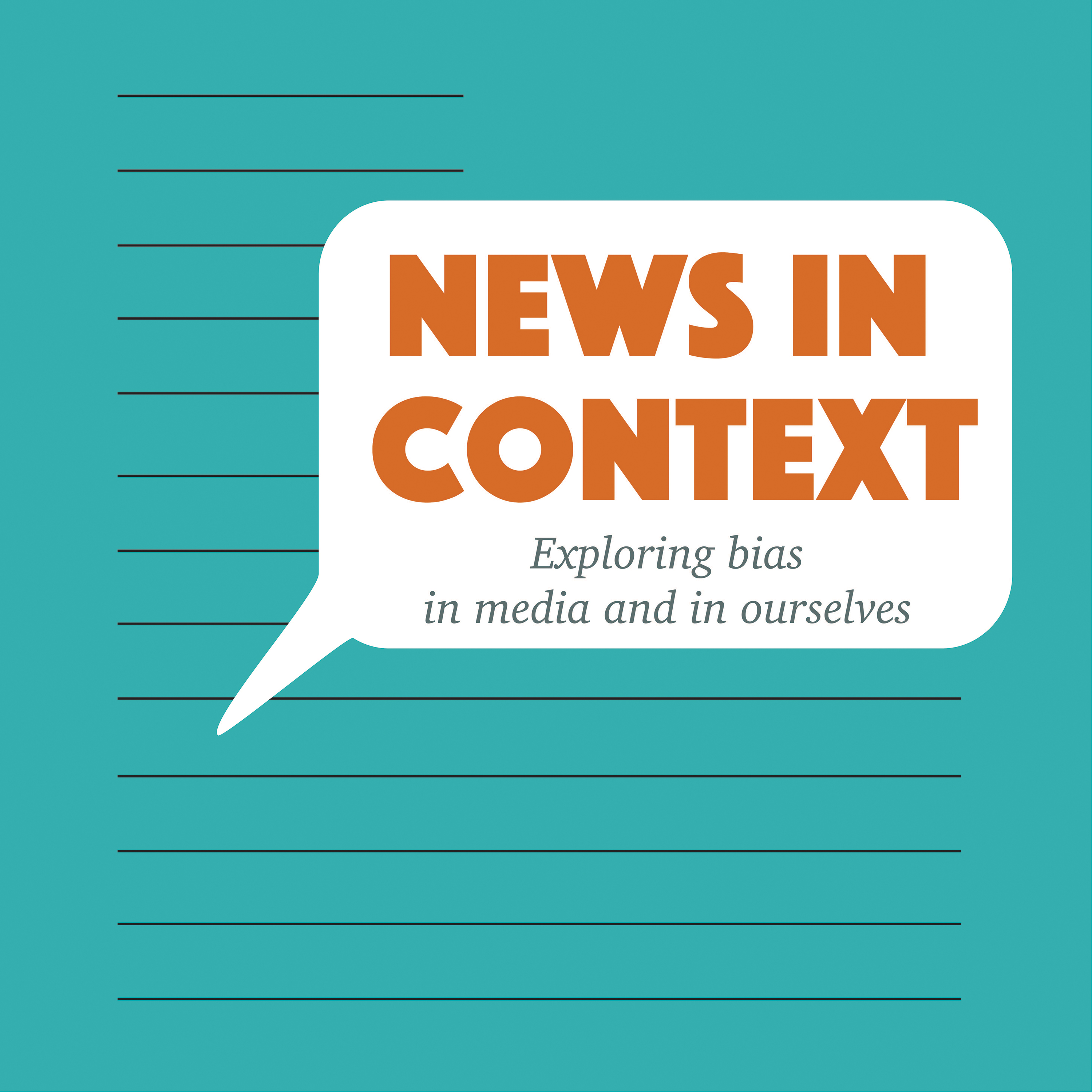 Caption: Logo: News In Context, Credit: Artwork by Joyce Cheng