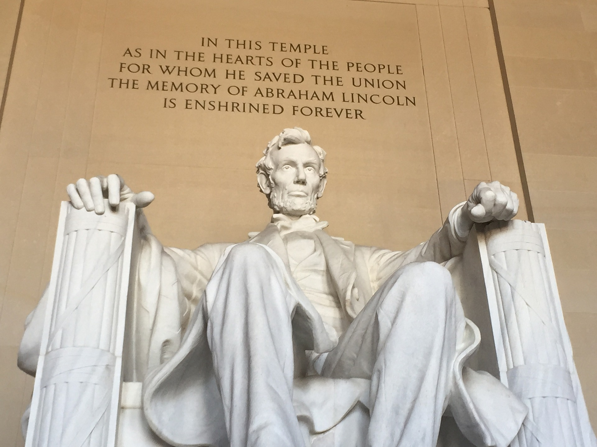Caption: Lincoln Memorial in Washington, DC