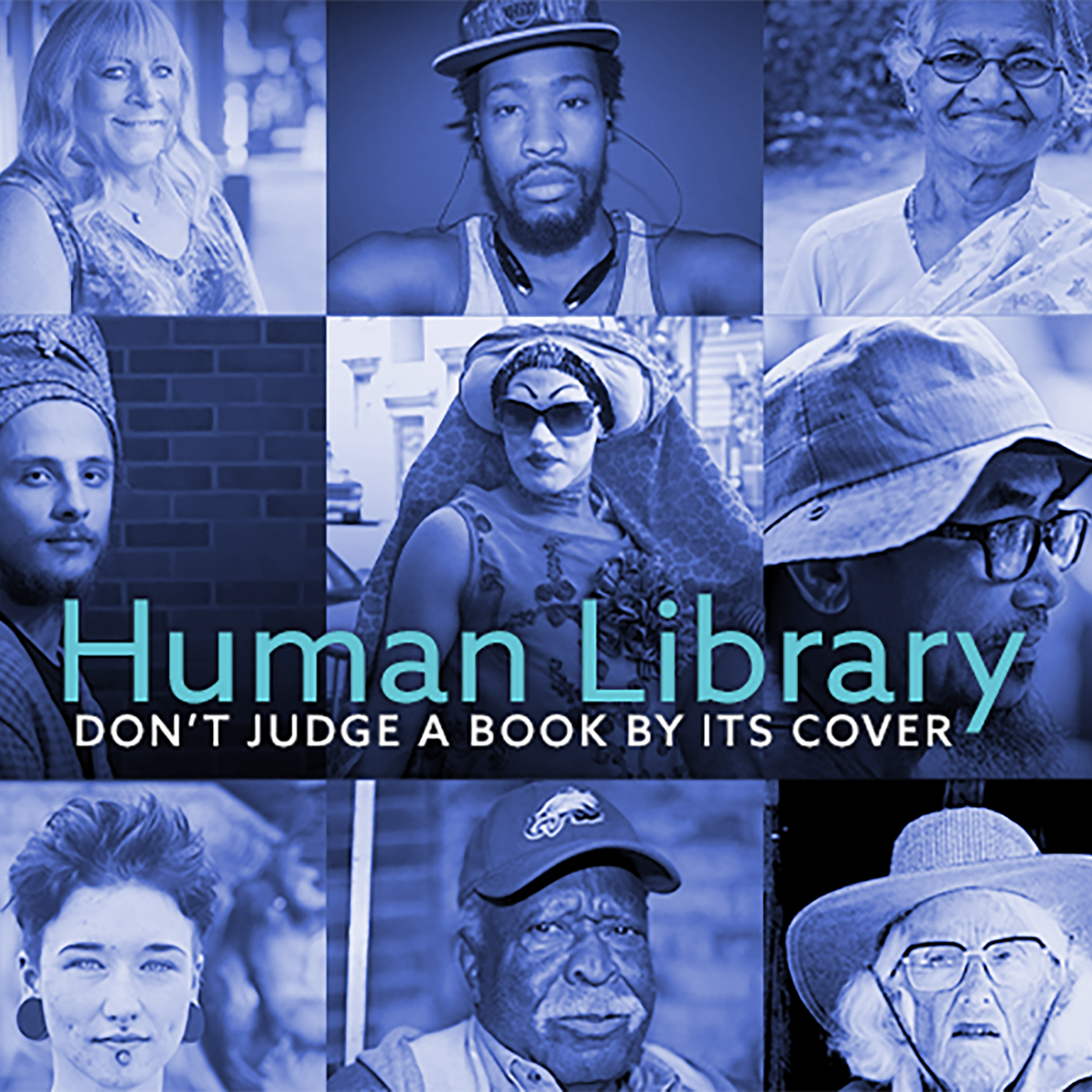 Caption: Human Library Banner