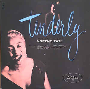 "Caption: Norene Tate's 1958 album ""Tenderly"" will be featured on the program"