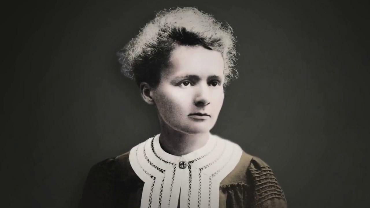 Caption: Marie Curie