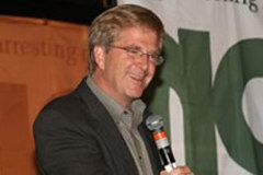 Caption: Rick Steves at NORML 2007, Credit: NORML Foundation
