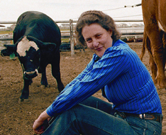 Caption: Temple Grandin, Credit: Rosalie Winard