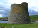 Caption: The broch on the island of Mousa where many a storm petrel reside in the summertime., Credit: Robert Furness