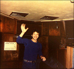 Caption: Scott Litt at The Power Station in New York, 1980's