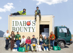 Caption: Idaho's Bounty Crew, Credit: Paulette Phlipot Photography