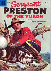 Caption: The first NEW Sgt Preston of the Yukon show since the 1950s!, Credit: Lorie Kellogg