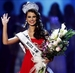 Caption: Miss Universe 2009 Stefania Fernandez, Credit: AP