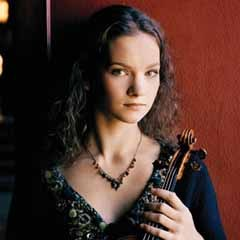 Caption: Hilary Hahn