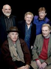 Caption: The Chieftains and Ry Cooder, Credit: Judith Burrows