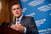 Caption: Former Mass. Gov. Mitt Romney addresses National Press Club, Credit: Sam Hurd