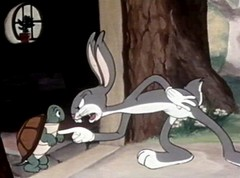 "Caption: Rare Bugs Bunny on the 10th ""Cartoon Carnival"" with Joe Bev."