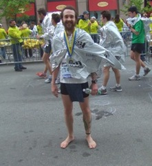 Caption: James Webber, Boston Marathon 2010, Credit: Emily Corwin