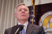 Caption: Navy Sec'y Ray Mabus at the National Press Club, Apr. 30, 10, Credit: Terry Hill