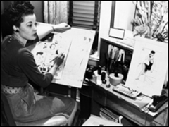 Caption: Jackie Ormes, Credit: From the Collection of Judie Miles