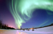 Caption: United States Air Force photo of Northern Lights at Eielson Air Force Base, Alaska , Credit: Senior Airman Joshua Strang