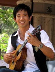 Caption: Ukulele virtuoso Jake Shimabukuro, Credit: Heidi Chang