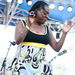 Caption: Sharon Jones performs at the 2010 Newport Folk Festival., Credit: Shantel Mitchell