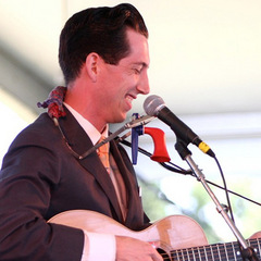 Caption: Pokey LaFarge performs at the 2010 Newport Folk Festival., Credit: Shantel Mitchell