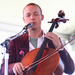 Caption: Ben Sollee performs at the 2010 Newport Folk Festival., Credit: Shantel Mitchell