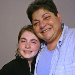 "Caption: MJ Seide talks to her granddaughter Genna Alperin about falling in love with her partner, Genna's biological grandmother. <a href=""http://www.prx.org/pieces/44986-storycorps-mj-seide-and-genna-alperin"">Listen Here</a>."