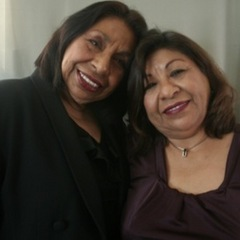 "Caption: Sylvia Mendez (L) talks to her sister Sandra Mendez Duran (R). <a href=""http://www.prx.org/pieces/46621-storycorps-historias-sylvia-mendez-and-sandra-men"">Listen Here</a>."