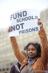 Thousands of Students March to Tell PA Governor: 'Fund Schools Not Prisons'   Credit: JJ Tiziou