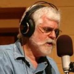 Bill announcing live Cowboy Jubilee Radio Show Credit: Brian Henning