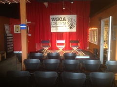 Caption: WSCA Theater, Credit: Staff photo